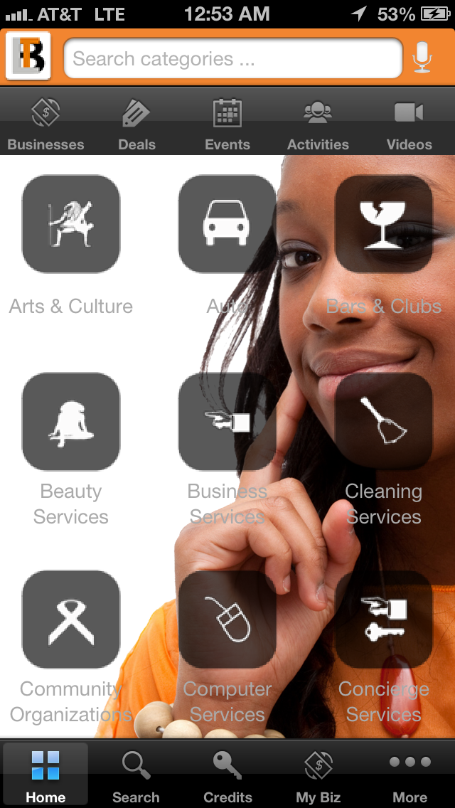 black owned business mobile app