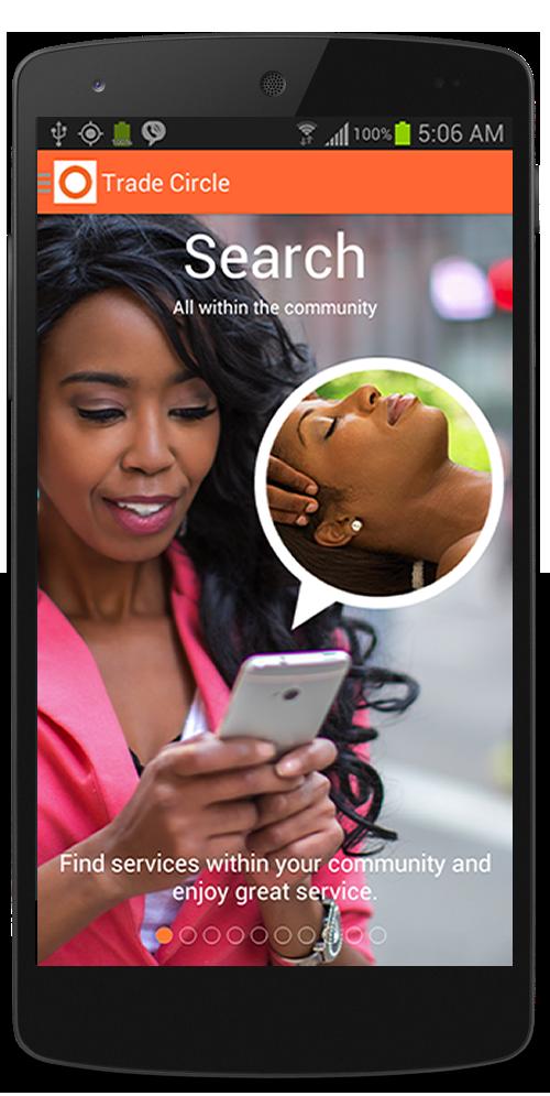 Black Trade Circle Mobile App